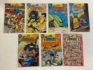 Who's Who in the Legion of Superheroes Set #1-7 8.0 VF (1988)