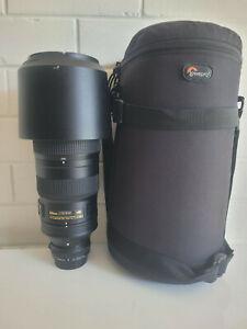 Nikon 200-500 5.6 AFS ED VR + Nikon AF-S TC-14E III Teleconverter 1.4X + Lowepro