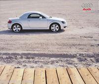 Audi TT Hardtop Prospekt 11.9.00 2000 brochure Autoprospekt Broschüre brosjyre