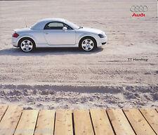 Audi TT Hardtop Prospekt 11.9.00 2000 brochure Autoprospekt Auto Pkw Verkehr