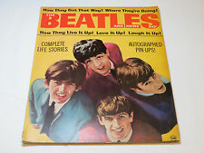 The Beatles Are Here 1964 Complete Life Stories Pin Ups RARE vintage#%