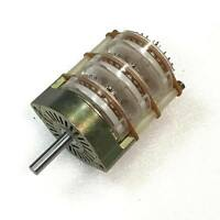 5POS 3SECTION 26PIN Multiposition Rotary Switch ITT L:6.5cm