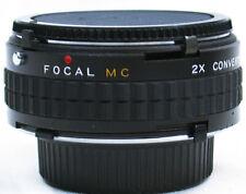 Vtg MINOLTA MC~MD Mount CPC Japan MC Teleconverter 2x Extender MACRO Lens MINTY!