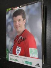 77215 Herbert Fandel DFB Schiedsrichter original signierte Autogrammkarte