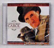 NEW A Christmas Carol Charles Dickens Radio Theatre Audio Book 2 CD Scrooge