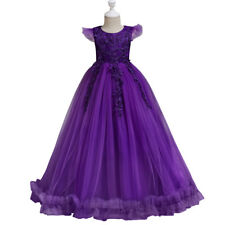 Flower Girl Dress for Wedding Junior Bridesmaid Dresses Party Prom Ball Gown