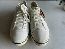 Crocs shoes, M9/W11, White  Hover Lace Up