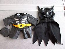 Build a Bear Clothes Batman The Black Knight Cape Gloves Lot T4