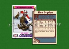 Ken Dryden - Montreal Canadiens - Custom Hockey Card  - 1976-77