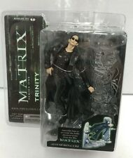 NEW The Matrix Series 1 TRINITY Lobby Scene McFarlane Toys Action Figure 2003