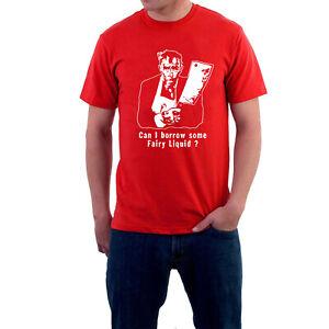 Mr Jolly Lives Next Door T-shirt Fairy Liquid Ralph Jolly Comic Strip Sillytees