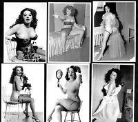 Blaze Starr Postcard Set Pin-Up Girl Nylon Stockings Erotic Burlesque Strip