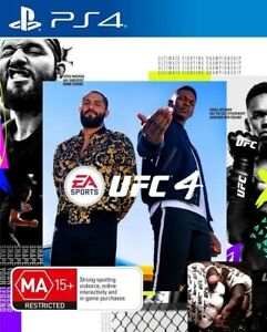 UFC 4 Game For (Playstation 4 PS4) Same Day Express