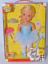 "Terri Lee Doll PRINCESS BALLERINA Reproduction 2004 BNIB 16"" Blonde"