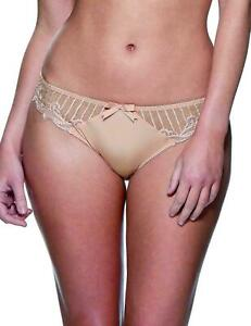 Charnos Sienna Brief Knickers 1295100 Size 16 Brulee