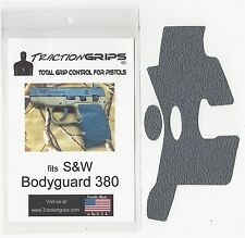 Gray Tractiongrips grip tape overlay S&W Bodyguard 380 / textured rubber grips