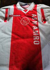Ajax Amsterdam 1994/1995 CL Winner Jersey de David aveugle SEEDORF Kluivert
