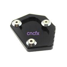 Black Side Stand Kickstand Extention Plate Pad CB500F/X CBR500R 2013-2014 CNC