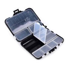 Angelgerät Box 26 Fächer Aufbewahrungskoffer Fischköder Zubehör Werkzeug WH