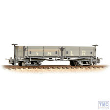 393-052 Bachmann Narrow Gauge Open Bogie Wagon Ashover Rly Light Grey Weathered