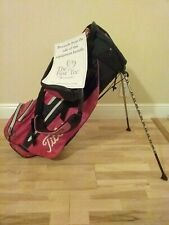 Titleist Stand/Carry golf bag with 4-way dividers