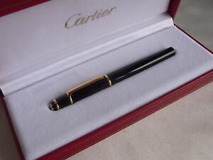 Cartier Mini Diabolo Fountain Pen 18K Nib