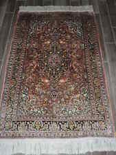 4x7ft. Handmade Art Silk Rug