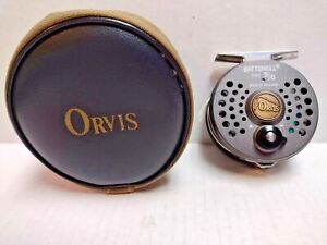 Orvis Battenkill 5/6 Disc Fly Reel with Soft Padded Case