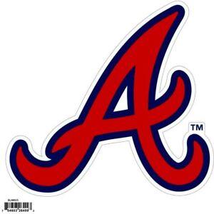 Atlanta Braves Licensed Outdoor Rated Magnet MLB Baseball Licensed