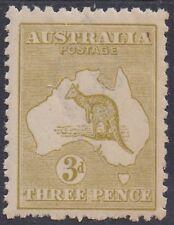 Australia 1915 Kangaroo 3D Die Iib 3Rd Wmk