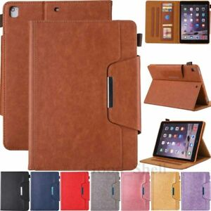 For iPad 9th 8th 7th 6th 5th Gen/Mini/Air Magnetic Flip Leather Stand Case Cover