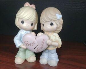 "2001 Enesco Precious Moments 2 Figurine Set ""Best Friends"" 890987"