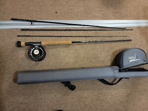 Temple Fork Outfitters (TFO) NXT Black Label Combo Fly Rod and Reel Kit