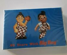 NIP Sealed BOBS BIG BOY Restaurant Playing Cards Complete 60 years with Big Boy