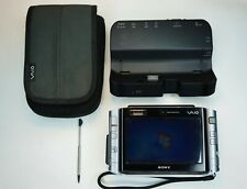 Sony VAIO (VGN-UX380N) Silver - SSD 128G Installed! + Case