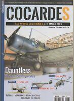 REVUES COCARDES N°6 DAUNTLESS /F-15J / LYNX / METEOR / VERRIERES / HURRICANE MKI