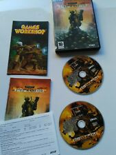 Warhammer 40,000 Fire Warrior - PC - video game with manual, 2 discs.