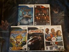 Wii Games lot - Need for Speed, Fifa, Golden Compass, House of the Dead, Drawn