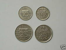 NETHERLANDS 4 different COINS