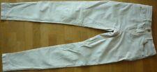 JEANS Skinny taille haute beige  -  BERSHKA  -  Taille 36