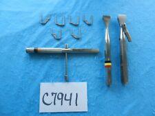 Richards Surgical Orthopedic Staple Instrument Set
