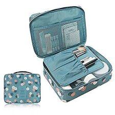 Portable Travel Multi Pocket Cosmetic Toiletries Organizer Bag