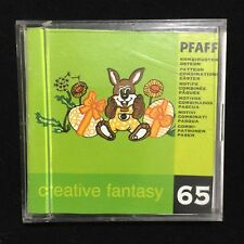 Pfaff Creative Embroidery Designs Card #65 Easter for 7570 2140 2160 2170