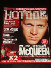 HOTDOG magazine 2003, Steve McQueen, Jason Lee, Spike, X-Men 2, James Cameron