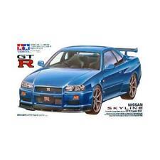 Tamiya 24210 1/24 Nissan Skyline GT-R R34 Plastic Model Kit New