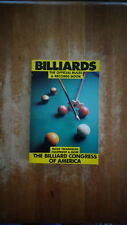 Billiards : Official Rules and Records Book by Billiard Congress of America SC