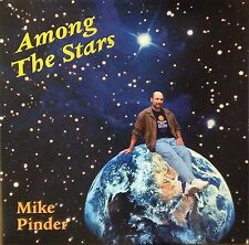 Mike Pinder-Among The Stars-One Step 0432-MOODY BLUES BLUE VINYL SIGNED #D