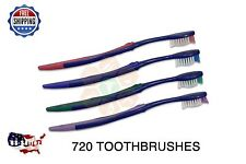 720 Premium Dr Fresh Prepasted Toothbrushes Disposable Individually Wrapped