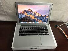 """MacBook Air 13"""" (2014) 1.7GHz i7 8gb 256GB PCIe MacOS Sierra w/box"""
