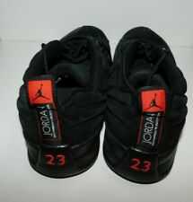NIKE Air Jordan Men's 11.5 Retro Black & Max Orange #23 Jumpman Shoes Sneakers